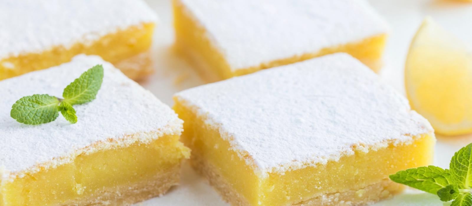 The CBD Cookery: Kief-y Shortbread PLUS BONUS (Lemon Bars)